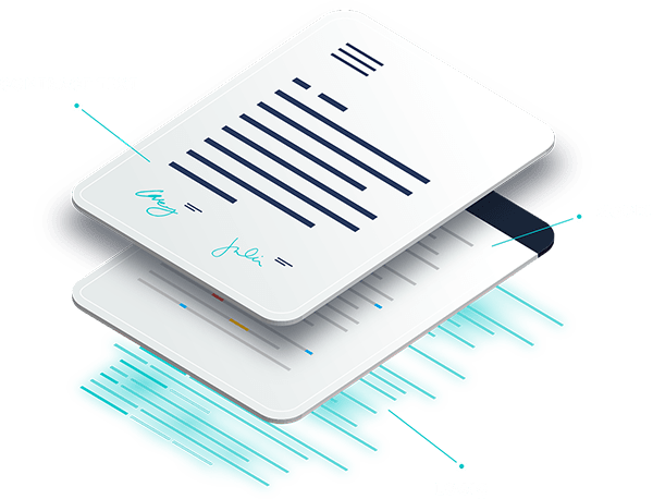 Image : Contract text, model, logic